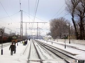 станция Авдеевка зимой 2011 г.